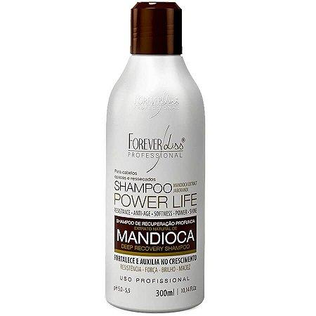 Forever Liss Shampoo Mandioca Reconstrução Capilar 300ml