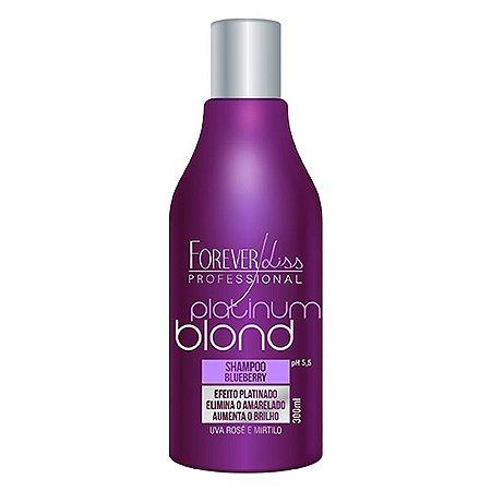 Forever Liss Shampoo Matizador Platinum Blond 300ml