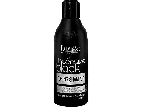 Forever Liss Shampoo Tonalizante Intensive Black 300ml