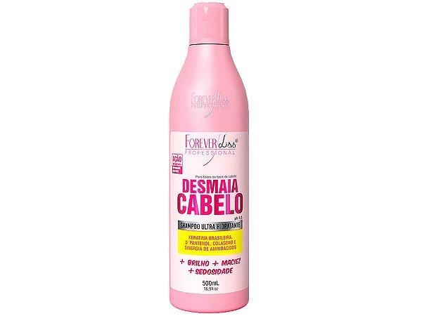 Forever Liss Shampoo Hidratante Desmaia Cabelo 500ml