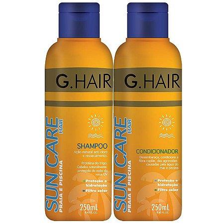 G Hair Shampoo + Condicionador Sun Care Protetor Solar 250ml