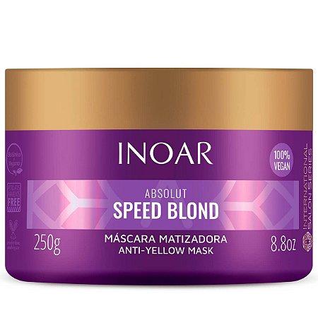 Inoar Absolut Speed Blond Máscara Desamarelador 250g