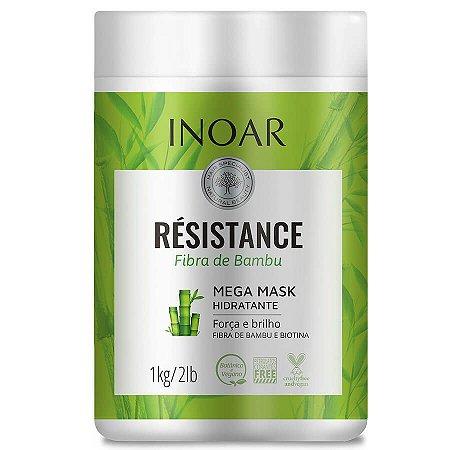 Inoar Máscara Hidratante Resistance Bambu 1000g