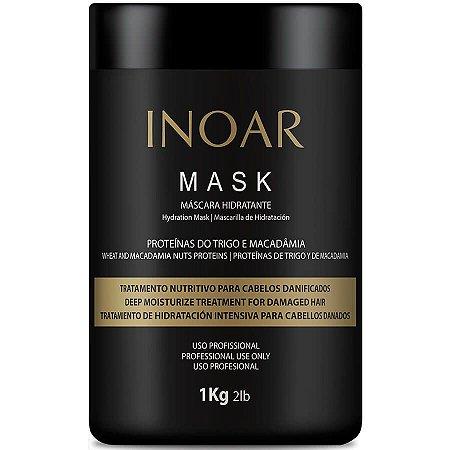Inoar Máscara Profissional de Tratamento Macadâmia 1Kg