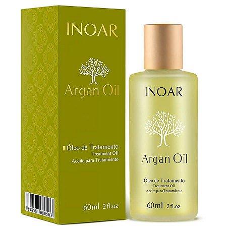 Inoar Óleo de Argan Sérum Tratamento 60ml Argan Oil