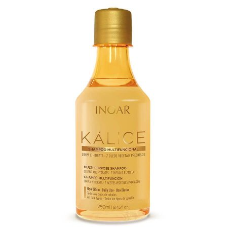 Inoar Shampoo Kálice 7 Óleos Hidratação e Limpeza 250ml