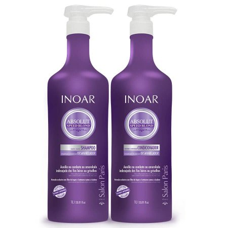 Inoar Speed Blond Shampoo + Condicionador 2x1000ml