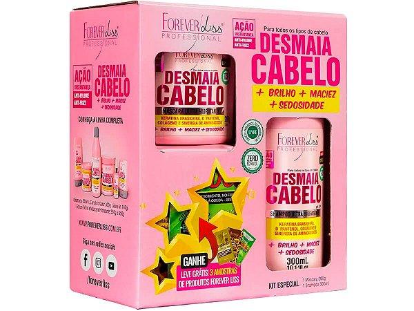 Forever Liss Kit Especial Desmaia Cabelo Com Brinde
