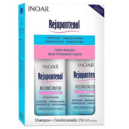 Inoar Kit Shampoo + Condicionador Reconstrução Rejupantenol 250ml