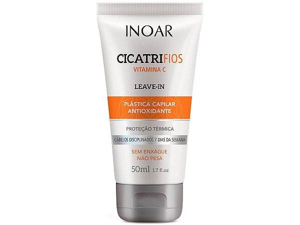 Inoar Leave-In Cicatrifios Vitamina C Antioxidante Capilar 50g