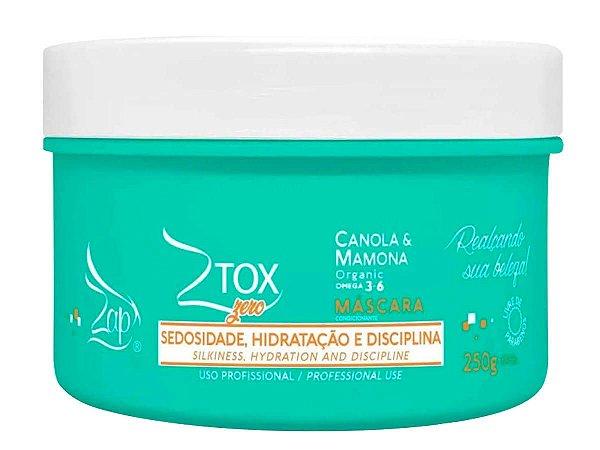 Máscara Botox Sem Formol Ztox Zero Zap 250g