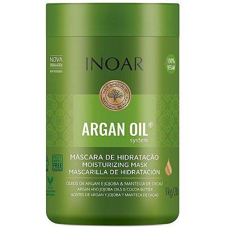 Máscara Capilar Inoar Argan Oil Tratamento Intensivo 1000g