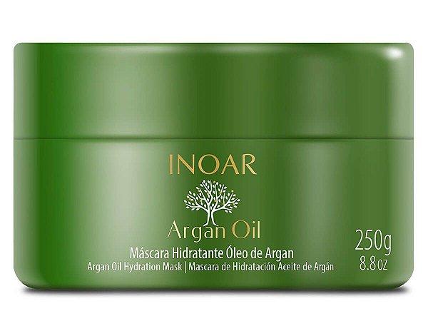 Inoar Máscara Capilar Argan Oil Tratamento Intensivo 250g