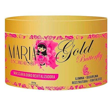 Máscara Hidratante Gold Butterfly Maria Escandalosa 150g