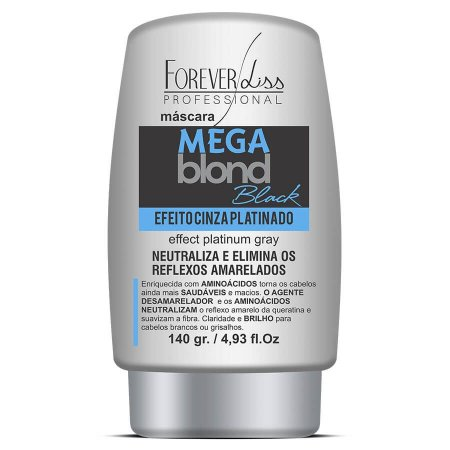 Forever Liss Matizador Mega Blond Black 140g