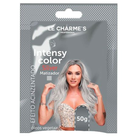 Matizador Intensy Color Efeito Prata Lé Charme Sachê 50g
