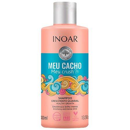 Inoar Shampoo Cachos Meu Cacho Meu Crush 400ml