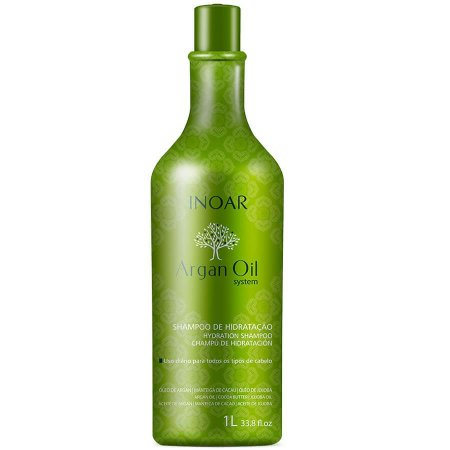 Inoar Shampoo Hidratante Argan Oil 1000ml