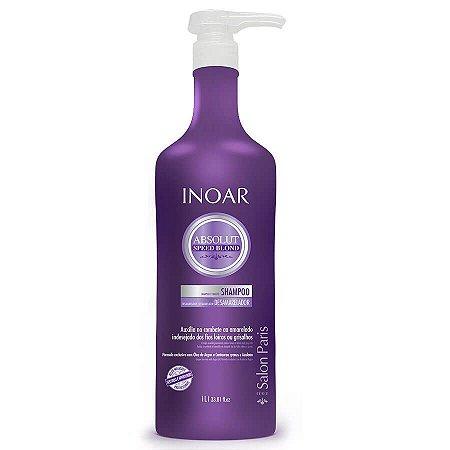Inoar Shampoo Absolut Speed Blond Desamarelador 1000ml
