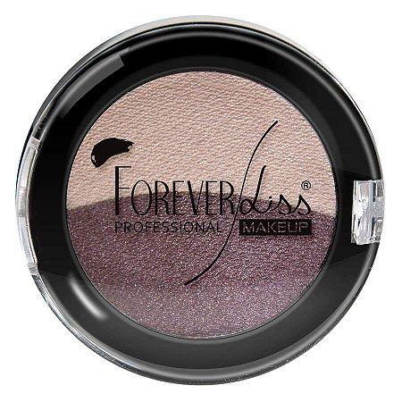 Forever Liss Sombra Duas Cores Rosa Claro e Roxo Duo Baked 2,2g