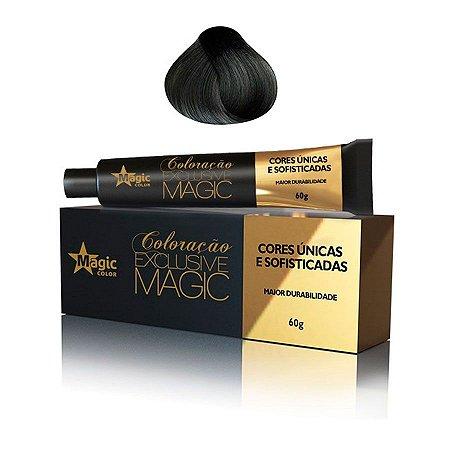 Magic Color Tintura Exclusive 6.1 Loiro Escuro Cinza 60g