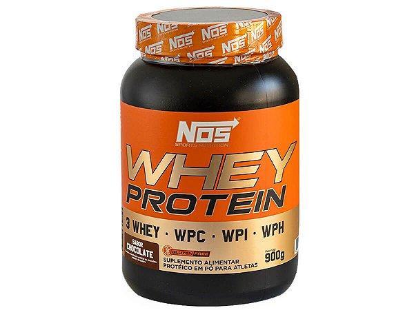 Whey Protein Evolution Chocolate Nos Nutrition 900g