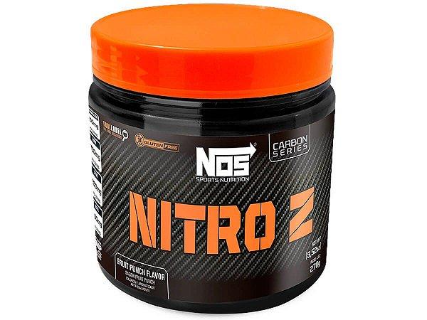Termogênico Carbon Nitro Z Fruit Punch Nos Nutrition 270g