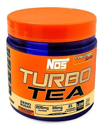 Termogênico Turbo Tea Citrus Nos Nutrition 300g