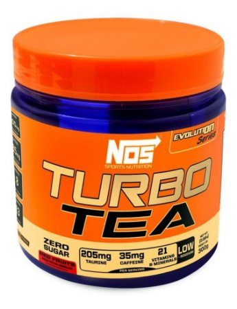Termogênico Turbo Tea Frutas Vermelhas Nos Nutrition  300g