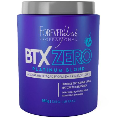 Forever Liss Btx Zero Platinum Blond 950g