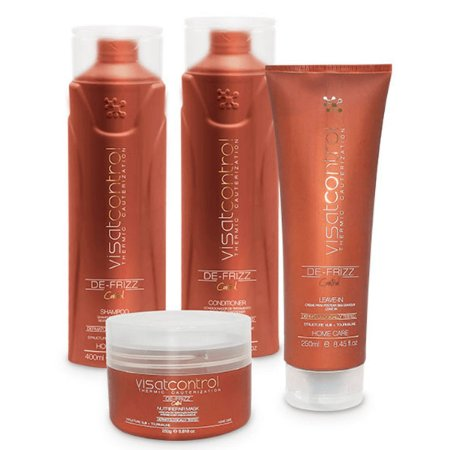 Visat Hair - Kit Home Care Control 4 Itens