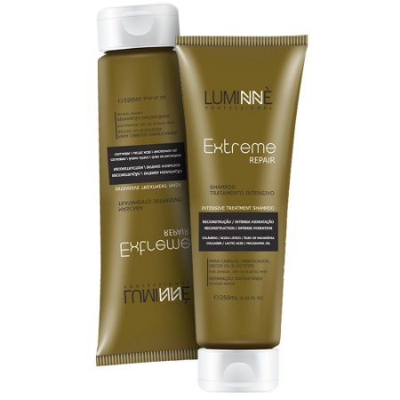 Kit Shampoo + Máscara Extreme Repair Luminne 250ml