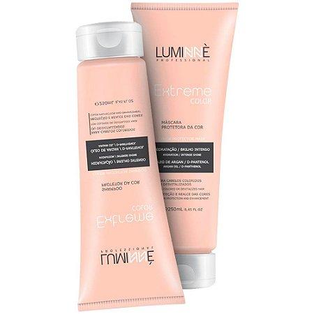 Kit Home Care Shampoo + Máscara Extreme Color Luminne 250ml