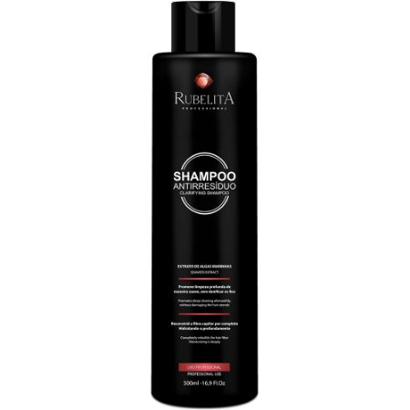 Shampoo Anti-resíduos Algas Marinhas Rubelita 500ml