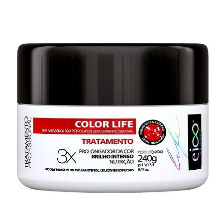Máscara Tratamento Eico Color Life 240g