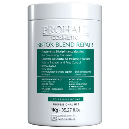 Prohall Btx Sem Formol Blend Repair 1kg