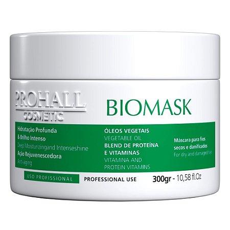 Máscara Utra Hidratante Biomask Prohall Efeito Teia 300g