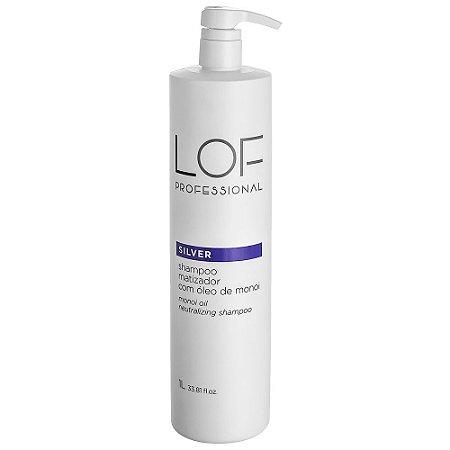 Shampoo Matizador Silver Lof Professional 1000ml