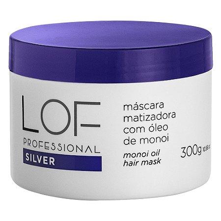 Máscara Matizador Silver Lof Professional 300g
