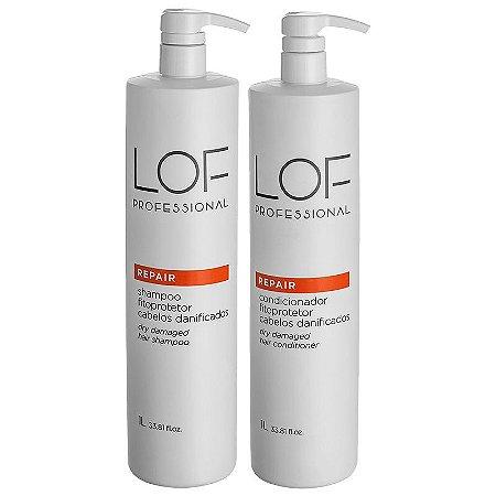 Kit Lof Professional Repair Shampoo + Condicionador Litro