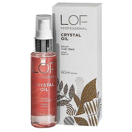 Sérum Multi Óleos Crystal Oil Lof Professional 60ml