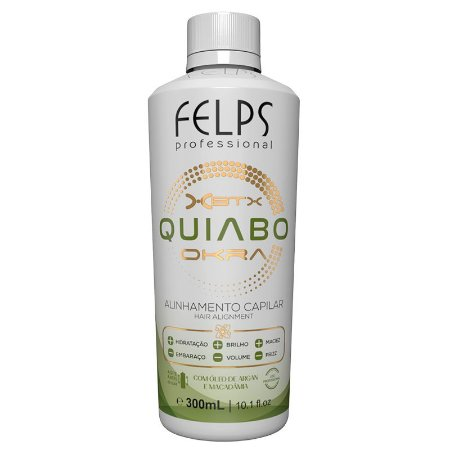 Felps Okra Progressiva Xbtx Quiabo 300ml