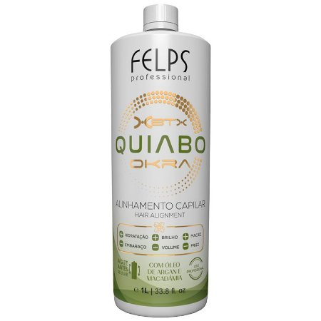 Felps Okra Progressiva Xbtx Quiabo 1000ml