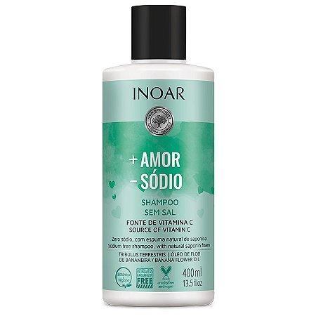 Shampoo Inoar + Amor - Sódio 400ml