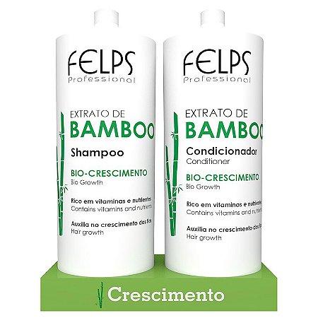 Kit Duo Extrato De Bamboo Felps 2x1000ml