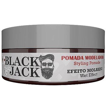 Black Jack Pomada Modeladora Efeito Molhado Felps Men 120g