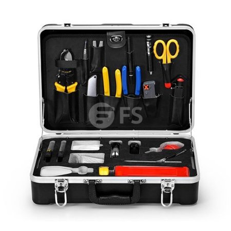 Fiber Optic Fusion Splicing Tool Kit FOTK-704 - FS FiberStore