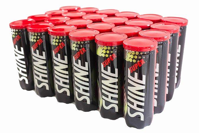 Bola de Tênis Super Shine - Pack com 24