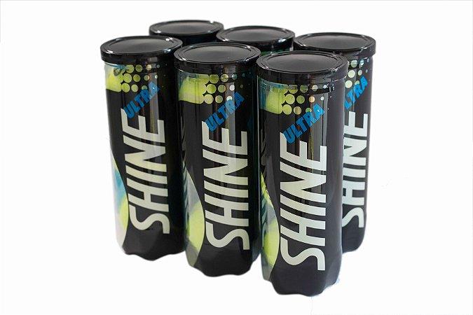 Bola de Tênis Ultra Shine - Pack com 6