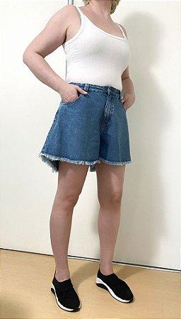 Short Jeans Médio Godê